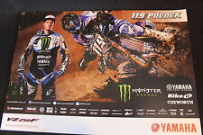 Poster Monster Energy Yamaha YZ250F 2013 #119 Mel Pocock (GBR) MX2 (HW)