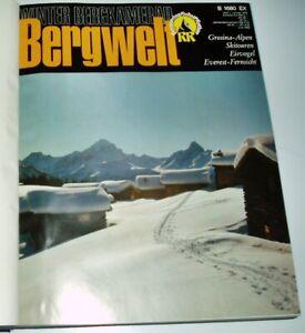 Bergwelt 1979 komplett Zeitschrift Jahrgang gebunden Alpin Wandern Alpen Touren
