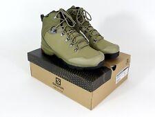 Salomon Outback 500 GTX Hiking Boots in Burnt Olive/Mermaid/Black SZ. 12