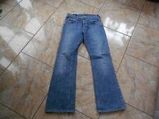 H7989 Lee Denver Jeans W30 L32 Mittelblau Unifarben Gut