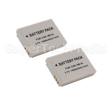2 Battery for Canon NB-5L NB5L Powershot SD700 SD790 SD800 SD850 SD870 SD880 IS