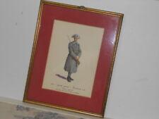 Vtg. Italian Military Museum Carabiniere a P. 1915 Grande Guerra Framed Print