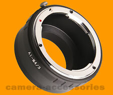 Nikon Nikkor Lens to Micro Four Thirds m4/3 mount adapter ring Olympus Panasonic