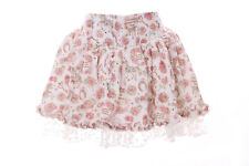 tr-04-1 White Satin Tulle Flower Short höschen-rock Pants Pastel Goth Lolita