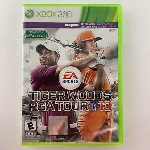 Tiger Woods PGA Tour 13 (Microsoft Xbox 360, 2012)