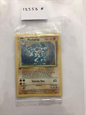 pokemon card MACHAMP 1st Edition HOLOGRAM RARE MINT ref: 12358 ( SEALED )