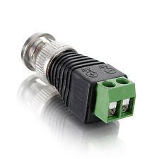 2Pcs CAT5 To Coax Coaxial Camera CCTV BNC TV Video Balun Cable Connector Adapter