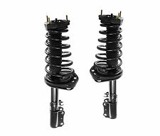 Pair: 2 New Rear Complete Struts With Springs Mounts Fit Camry Avalon