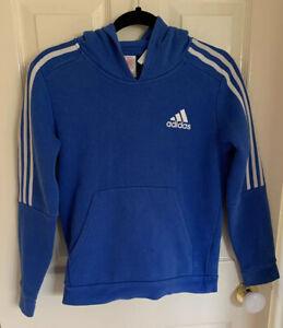 Adidas Children's Hoodie Blue Size 11-12 years