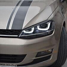 VW GOLF 7 VII MK7 FANALE sopracciglia Palpebre Coppia set copertura mascherina