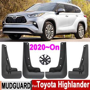 Mudflaps For Toyota Highlander Kluger 2021 2020 Splash Guard Mudguards Protector