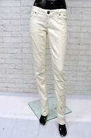 Jeans TOMMY HILFIGER VICTORIA Donna Taglia W28 L34 Pantalone Pants Woman Bianco