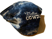 NEW BLUE FACE MASK FABRIC WASHABLE NFL DALLAS COWBOYS FOOTBALL ADULT MENs WOMENs