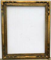 Vintage carved gold leaf frame fits 22 x 28 painting