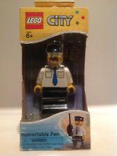 Lego City Retractable Pen Harbor Captain LGO2203 #2203