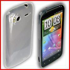 HTC Sensation Schale Case Schutzhülle Tasche transparen