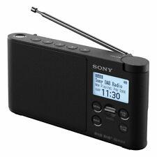 Sony XDR-S41D DAB+ FM Digital Radio Black