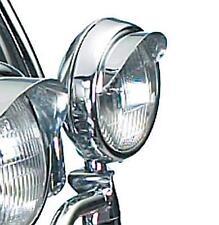 """National Cycle® 4 1/2"""" Chrome Driving/Passing/Fog/Spot Light/Lamp """"VISORS"""""""