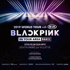 Places concert blackpink paris 2019 black pink