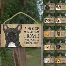 Wooden Tags Pet Tag Dog Rectangular Plaques Lovely Friendship Animal Signs Us