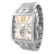 CERRUTI MENS ODISSEA UOMO SWISS CHRONOGRAPH WATCH NEW STAINLESS CT64631X403083