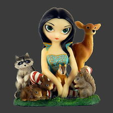 Large *SNOW WHITE & FRIENDS* Fantasy Figurine By Jasmine Becket-Griffith [13cm]