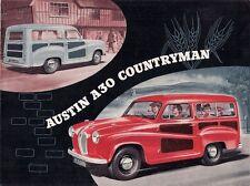 Austin A30 Countryman 1954-56 UK Market Sales Brochure