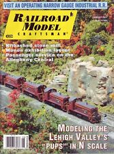 Railroad Model Craftsman August 2011 Allegheny Central Lehigh Valley N Scale
