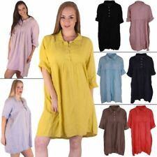 1866ec7f23 Linen Dresses for Women with Buttons