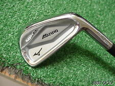 Very Nice Mizuno Mp-63 Forged 6 Iron Dynamic Gold S-300 Steel Stiff Flex