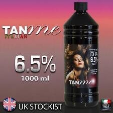 1 Litre 1000ml Tan Me Italian 6.5% DHA spray fake tan solution for HVLP Airbrush
