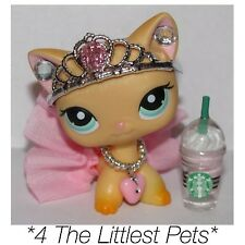 💞Littlest Pet Shop clothes LPS Accessories Custom Skirt Bow *Cat Not Included💞