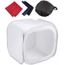 """Meking 60cm / 24"""" Portable Backdrop SoftBox Cube White Light Tent Photo Studio"""