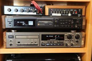 Sony CDR-W33 Profi-CD-Rekorder mit Fernbedienung und Echtholzseitenteilen