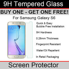 Premium Quality Tempered Glass screen protector for Samsung Galaxy S6