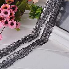dentelle noire 2,5 cm de largeur vendu au metre