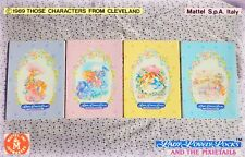🏰 LADY LOVELY Vintage 1989 4 QUADERNI collezione Notebook Mattel Italy PERFETTI