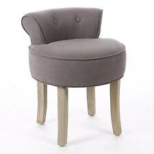 Dressing Table Vanity Stool Padded Seat Chair Modern Bedroom Pink ...