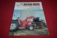 Bush Hog QT Front End Loaders Dealer's Brochure YABE10