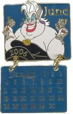 Disney Pin 46850 DLR 2006 Disneyland Calendar June Ursula Little Mermaid LE