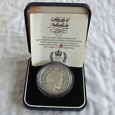 SEYCHELLES 1977 SILVER JUBILEE 25 RUPEES SILVER PROOF - boxed/coa