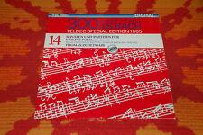 ♫♫♫ Bach - Zehetmair * Sonaten & Partiten für Violine solo Teldec Digital DLP♫♫♫