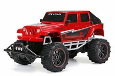 Bright R/C F/F 4-Door Open Back Jeep Includes 9.6V Power Pack, Batteries & Charg