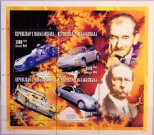 MADAGASCAR MALAGASY 1996 Klb 1863-66 1326 Sports Cars Mercedes Porsche MNH
