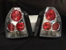 For 96-98 Honda Civic 3Dr Hatchback Chrome Tail Light