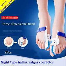 2P Bunion Night Splint Hallux Valgus Valgus Corrector Big Toe Straightener Pain