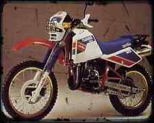 Aprilia Etx 125 88 03 A4 Metal Sign Motorbike Vintage Aged