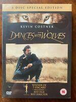 Dances Con Wolves Box DVD Set Costner Western Classico Del Regista Taglio