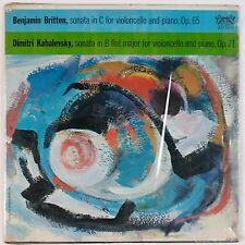 BRITTEN, KABALEVSKY: Sonatas Cello Vectomov VINYL LP NM- ARTIA ORIG