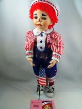 "Paradise Galleries Rag Time Matthew American Pride Collection 24"" Porcelain Doll"